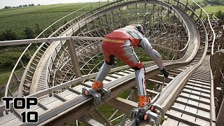 Top 10 Insane Roller Coaster Stunts