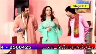 Nida Ch Hot! and Sxy! Jokes With Zafri and Slow Motion Pakistani Punjabi Stage Drama 2016
