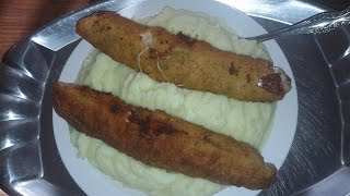 How to Eat Cordon Bleu with Mashed Potatoes