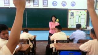 กิจกรรมซ่อมเสริม การสอนวิชาภาษาไทย (กลุ่มอ่อน) โดย ครูนพวรรณ ศิริบูรณะ โรงเรียนแม่ริมวิทยาคม สพม.34