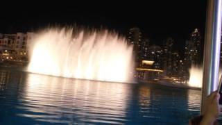 Dubai Water Dance in Beside  Burj al khalifa মোহাম্মদ সোহেল মাহমুদ।