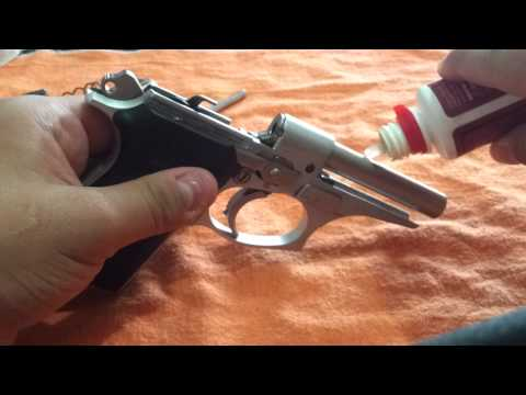 Despiece y Limpieza Bersa Thunder .22 Disarm and cleaning Bersa Thunder .22