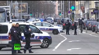 Dead or alive: French security forces op to catch Strasbourg shooting suspect