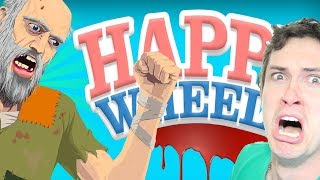 HAPPY WHEELS - KNIFE IN MY WHAT?!  TobyGames