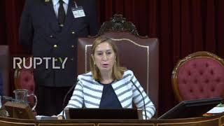 Spain: Scores of MPs demand release of detained Catalan leaders in Congress