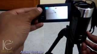 Using manual 'Shutter Speed' in sony hdr camcorders: Tutorial