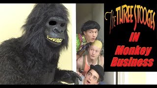 The Three Stooges in Monkey Business