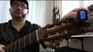 Cómo Usar un Afinador para Guitarra