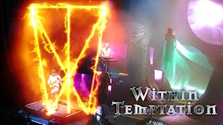 WITHIN TEMPTATION -THE RECKONING- RESIST TOUR  HD SOUND Live @ PALLADIUM, Cologne 19.11.2018