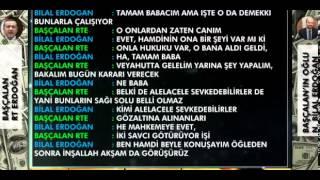 Başbakan Erdoğan savcı Zekeriya Öz'den Yardım İstiyor ! 15 Mart Bombası
