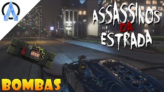 GTA V Online PS4 - Assassinos da Estrada #6 - Só nas Bombas !