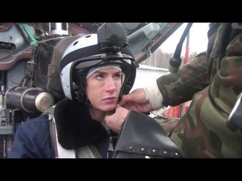 Pauline Nordin Stratosphere flight in the MiG 29
