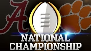 #1 Alabama v. #2 Clemson | 2017 CFP National Championship Highlights