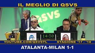 QSVS - I GOL DI ATALANTA - MILAN 1-1 - TELELOMBARDIA / TOP CALCIO 24
