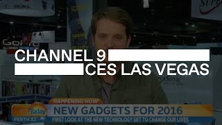 The latest technology live from CES Las Vegas