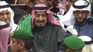 خادم الحرمين الشريفين يرعى حفل العرضة السعودية ضمن نشاطات مهرجان الجنادرية ٣٢ (الحفل كامل)