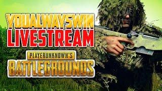 Playerunknown's Battlegrounds Live 💀 YAW Live Stream (Apr 27, 2017)