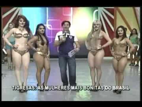 João Inacio Show 03 02 13 As Tigresas dançando