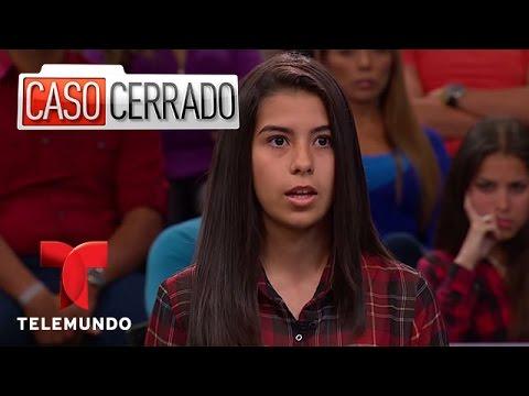 Hija quiere casarse con su padrastro Caso Cerrado Telemundo