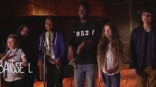 Kids United - Sur Ma Route - En duo avec Black M (Lyrics Video - Officiel)
