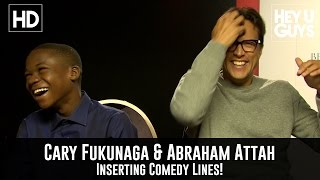Cary Fukunaga Convinces Abraham Attah to Shoehorn a Sentence During Interview