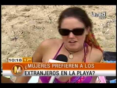 ¿Chilenas prefieren a los extranjeros en la playa