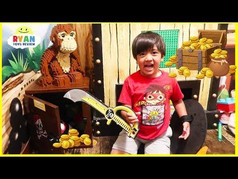 Legoland Secret Treasure Chest Hunt Surprise Toys for kids