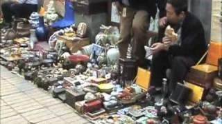 """Beijing, China:   The Pangiayuan """"Dirt Market"""""""