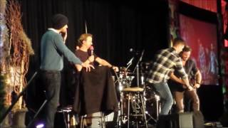 Supernatural Convention: Jensen, Jared, Rich, Rob: Blame it on The Musk