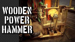 How to Build a Power Hammer: My Power Hammer Plans for a Homemade DaVinci Cam Helve Hammer