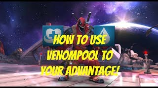 HOW TO USE VENOMPOOL EFFECTIVELY WITH SP1 AND SP2! (Marvel Contest Of Champions)