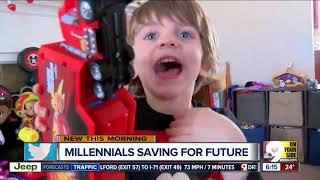Bank of America study shows millennials are doing a good job of stashing away money