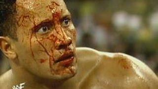 روك الضخره ضد جولد بيرج قتال مصارعة الموت