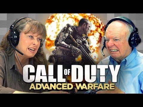 CALL OF DUTY Advanced Warfare Elders React Gaming