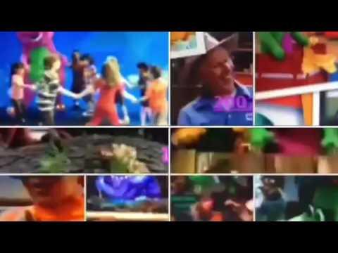 Barney Theme Songs Seasons 1 14 in 52 seconds