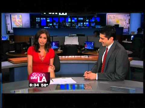 Knee Surgery In Los Angeles Maria Quiban of Good Day LA and Dr. Sonu Ahluwalia
