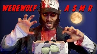 ASMR WEREWOLF BRINGS YOU TO BED | Scary Triggers for Sleep