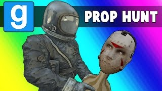Gmod Prop Hunt Funny Moments - The Deadly Warehouse (Garry's Mod)