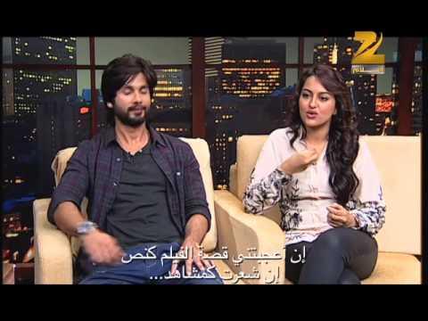 Shahid Kapoor & Sonakshi Sinha on Aalam Bollywood -  part 2