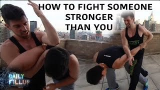 How to Fight Someone Stronger - Wing Chun Wednesday Ep3