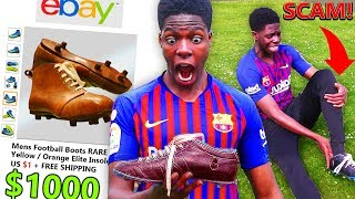 I Bought Football Boots from 50 YEARS AGO on Ebay & Got Scammed