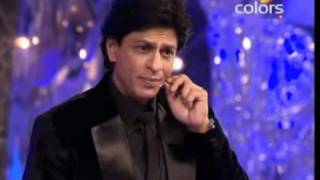 Shahrukh Khan Perform with Madhuri Dixit in Colors Screen Awards Baba Mehta