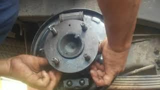 Cara ganti bearing/klaher roda belakang phanter