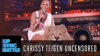 Chrissy Teigen Uncensored w/ LL Cool J | Lip Sync Battle