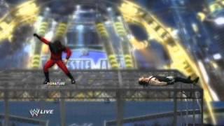 WWE 12: Undertaker VS Kane (Hell in a Cell)