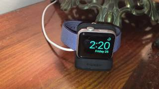 Spigen S350 Apple Watch Stand with Night Stand Mode for Apple Watch Review