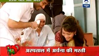 Behind the scene fun on the sets of 'Pavitra Rishta'