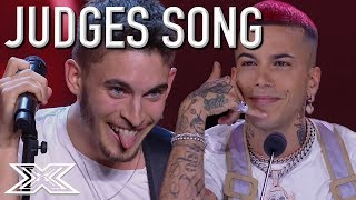 X Factor Italia Contestant Performs Judge's Song In Front Of Him! | X Factor Global