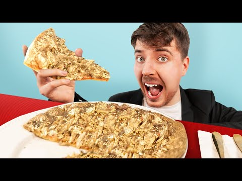 I Ate A 70 000 Golden Pizza