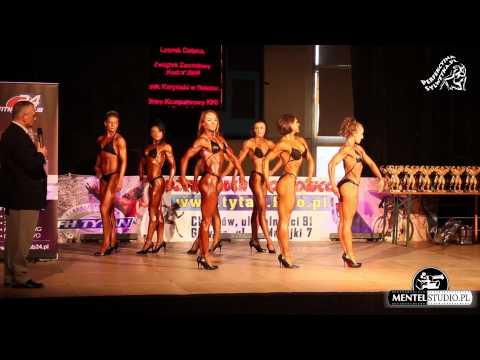 Fitness sylwetkowe I runda Mistrzostwa Śląska 2013